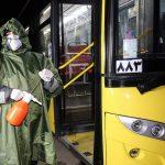 قم نیوز - گزارش تصویری:ضدعفونی ناوگان حمل و نقل عمومی شهر قم