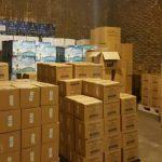 توزیع 50 هزار بسته بسته بهداشتی در قم