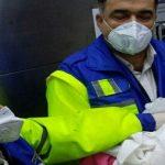 تولد نوزاد عجول قمی در آمبولانس