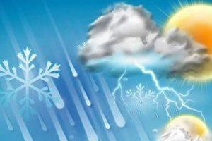 پیش بینی بارش شدید باران در قم