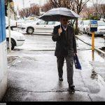 از ثبت ۷۷ میلیمتر باران تا بارش برف ۶ سانتی در روستاهای قم در ۲۴ ساعت گذشته