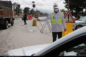 نیروی انتظامی قم مبادی ورودی شهر را در روز طبیعت بهشدت کنترل میکند