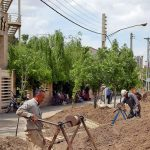 اجرای شبکه فاضلاب بیمارستان فرقانی قم ظرف یک ماه