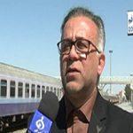 بازسازی خطوط اصلی ایستگاه مرکزی راه آهن قم