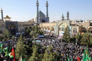 برگزاری مراسم یوم الله 15 خرداد در مدرسه فیضیه