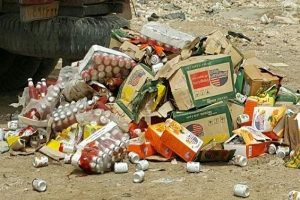 کشف و معدوم بیش از یک تن مواد غذایی فاسد در قم