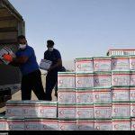 هلال احمر استان قم بیش از ۲۳۰۰ بسته غذایی برای حادثهدیدگان لبنان ارسال کرد