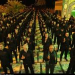 عزاداری هیئت های مذهبی در فضای باز و حیاط مدارس قم برگزار می شود