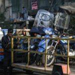 جمعآوری موتورسیکلتها از هسته مرکزی شهر