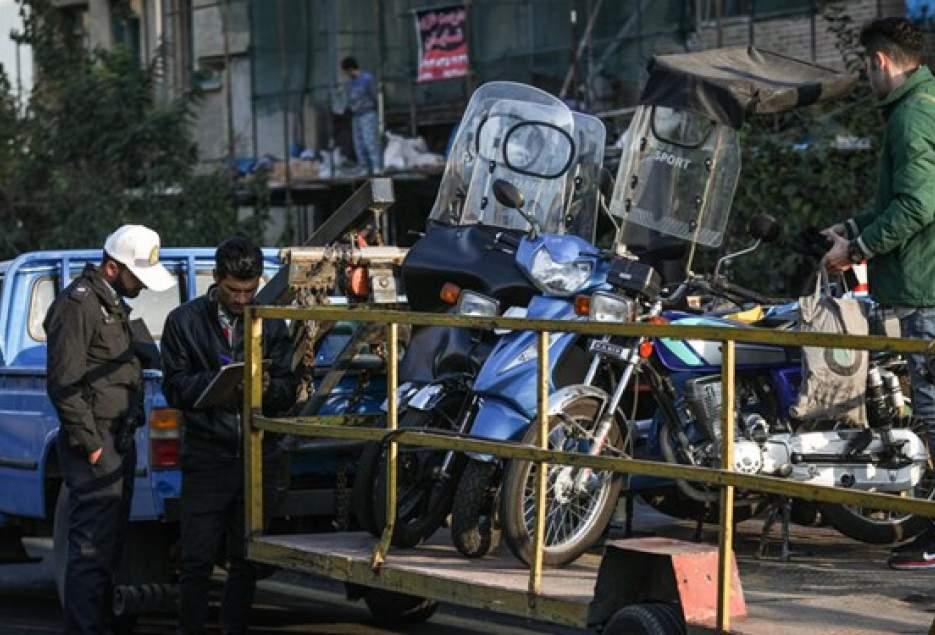 شهرکریمه – جمعآوری موتورسیکلتها از هسته مرکزی شهر