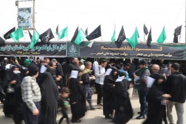 توزیع همه روزه ۳۲ هزار غذای گرم و میان وعده در موکب علی بن جعفر(ع) شهر قم در سامرا