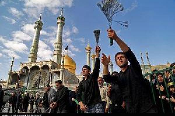 تصویر/ عزاداری اربعین حسینی در شهر قم