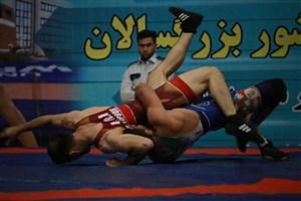 قهرمانی خوزستان در رقابت های گروه الف کشتی فرنگی بزرگسالان کشور