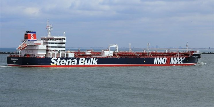 نقض مقررات دریانوردی دلیل توقیف نفتکش انگلیسی
