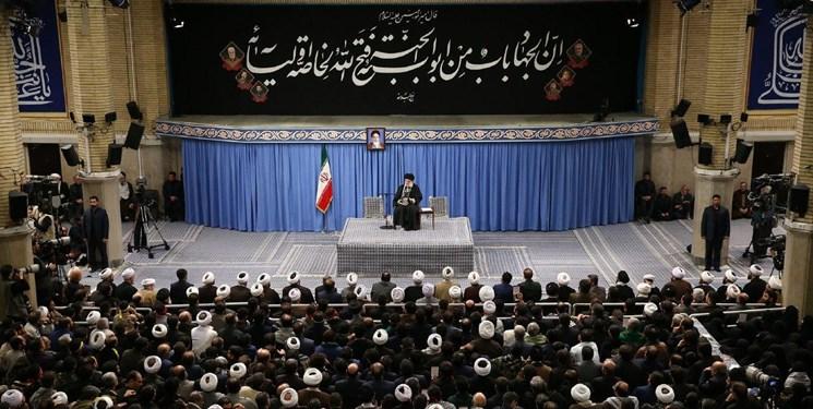 رهبر انقلاب: به روح سردار سلیمانی تعظیم میکنم/ دیشب یک سیلی زده شد، انتقام بحث دیگری است/ حضور آمریکا باید تمام شود