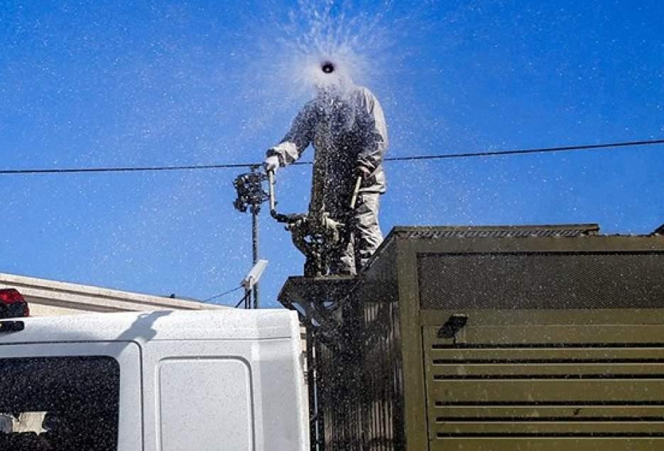 شهرکریمه – تأمین تجهیزات ضدّعفونی شهری در بودجه لحاظ شود