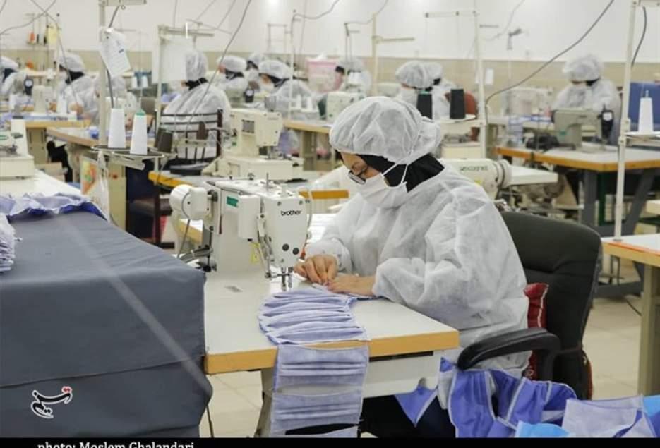 شهرکریمه – ایجاد ظرفیت تولید روزانه 700 هزار ماسک در قم؛ قیمت مصوب 1300 تومان است