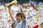عقده گشایی انگلیس بعد از مرگ مارادونا+عکس